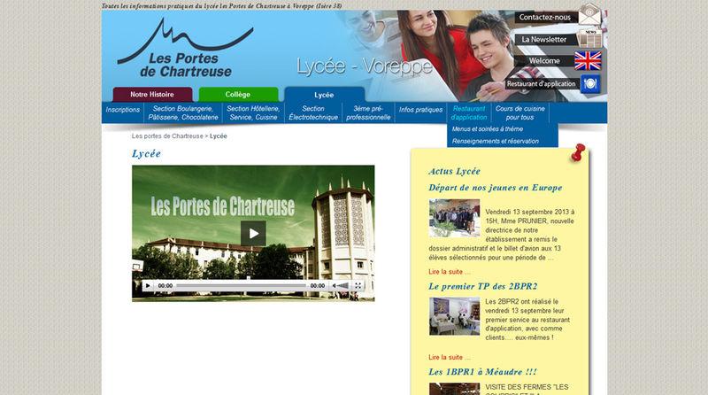 Collège Lycée les Portes de Chartreuse à Voreppe